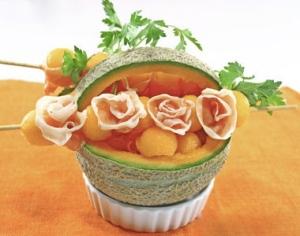 Cestino prosciutto e melone2